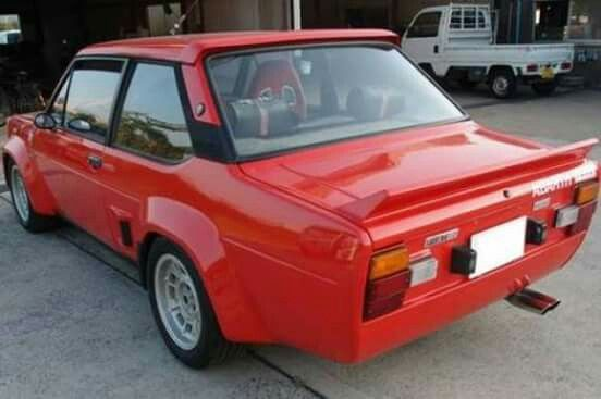 Fiat 131 Abarth Fiat Classic Cars Online Cool Cars
