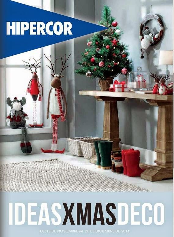 Catalogo De Oferta Hipercor Adornos Para Navidad 2014 Adornos De Navidad Adornos Navidenos Arboles De Navidad Decorados