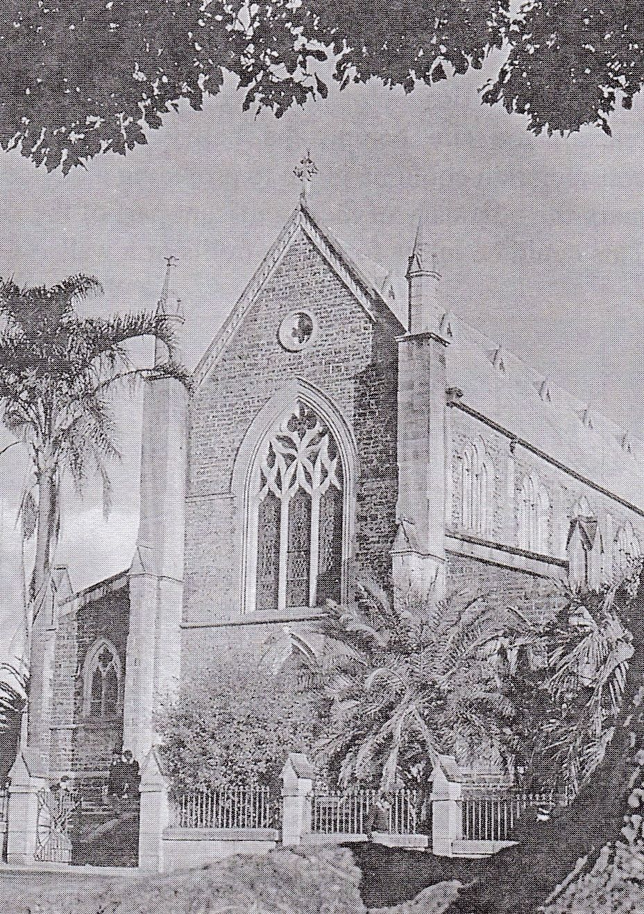 St Patrick's Cathedral in 1950.