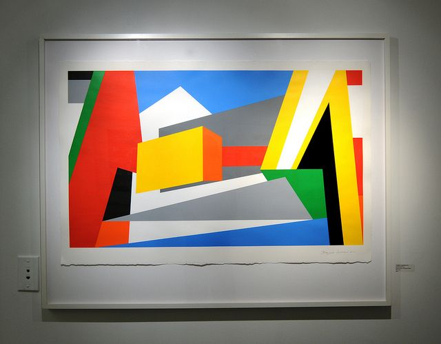 Untitled Geometric Abstract Art Painting by Bryce Hudson ...