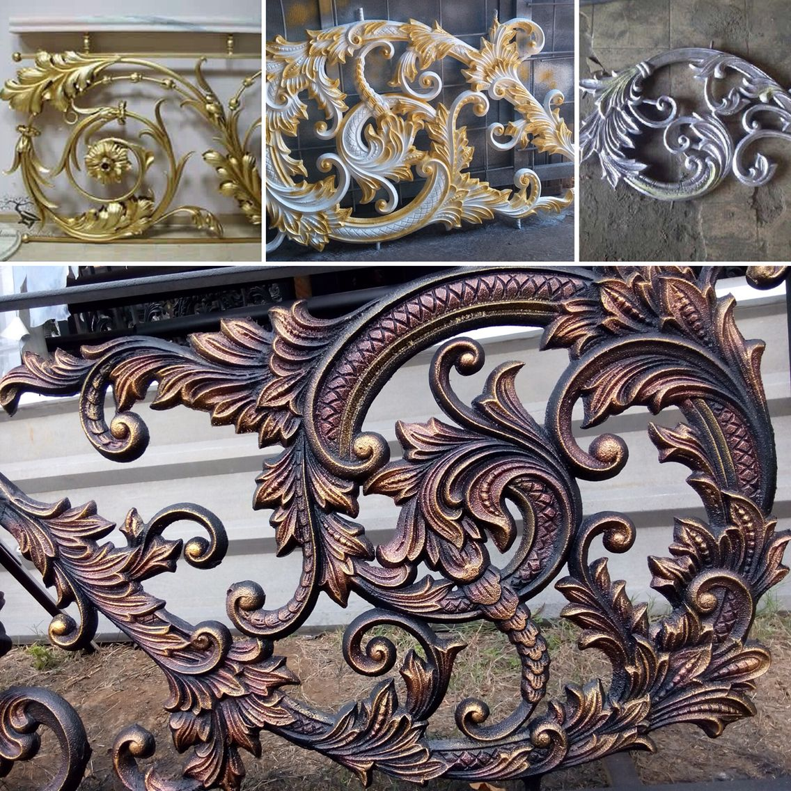 Central Java Art Specialists Working On Classic Wrought Iron