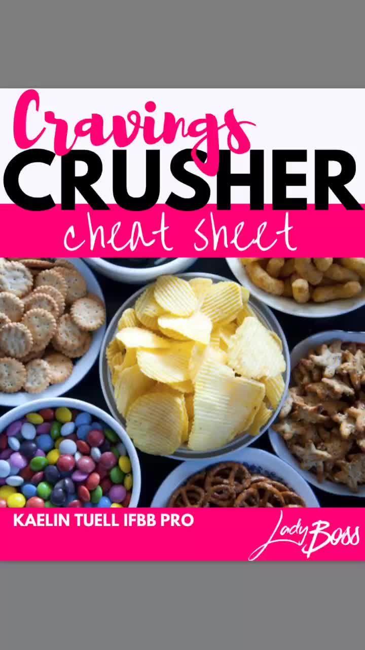 Cravings Crusher Cheat Sheet by Lady Boss - https://flipagram.com/