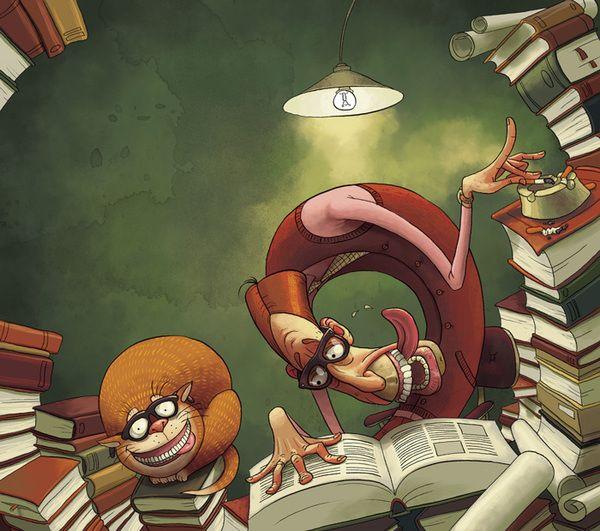 Superb Illustration By Denis Zilber  #illustration
