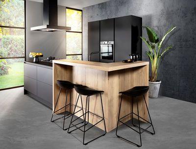 Keuken Houten Bar : Eiland keuken houten bar diningroom pinterest dining room