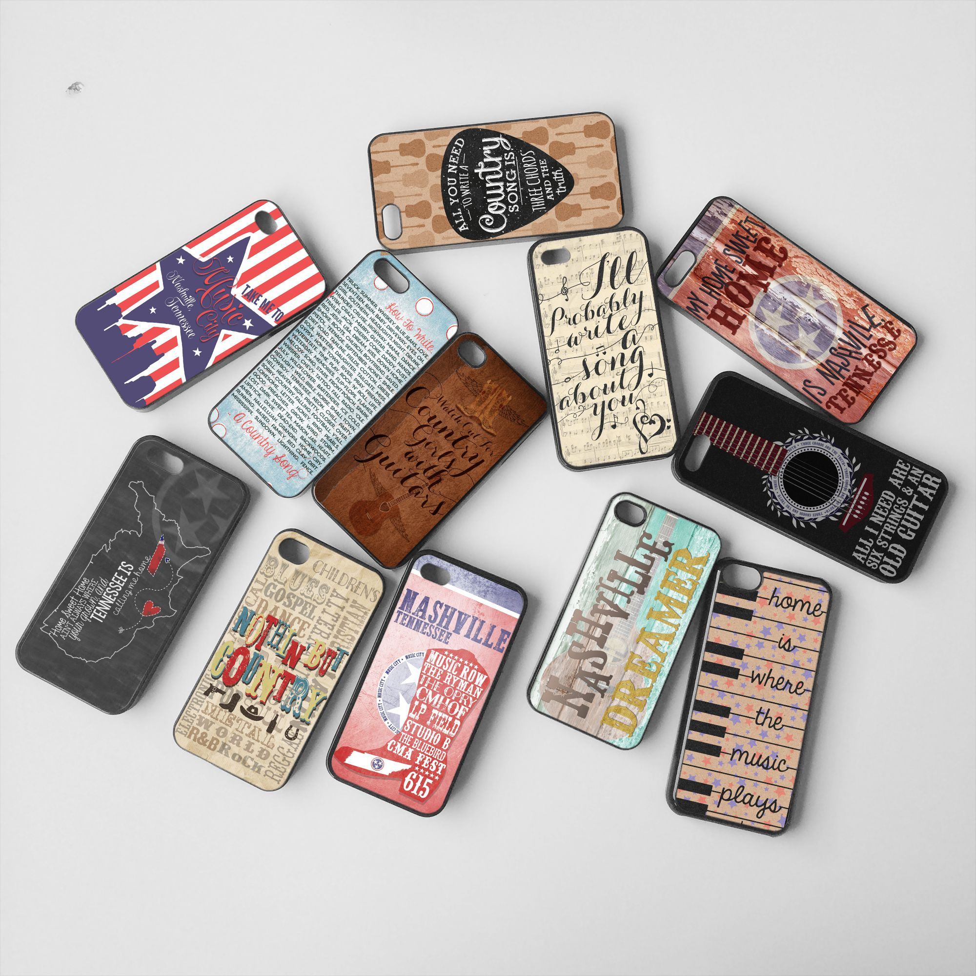 Nashville Dreamer Phone Cases.