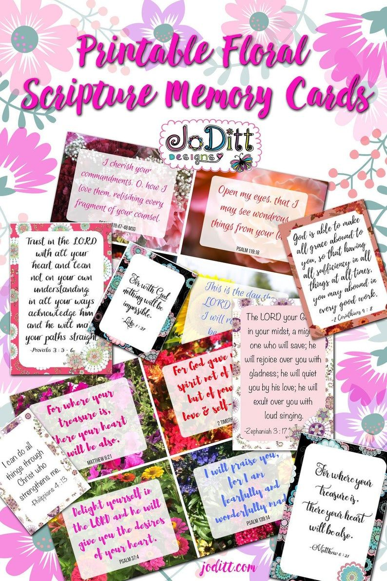 Pin On Printable Scripture Cards