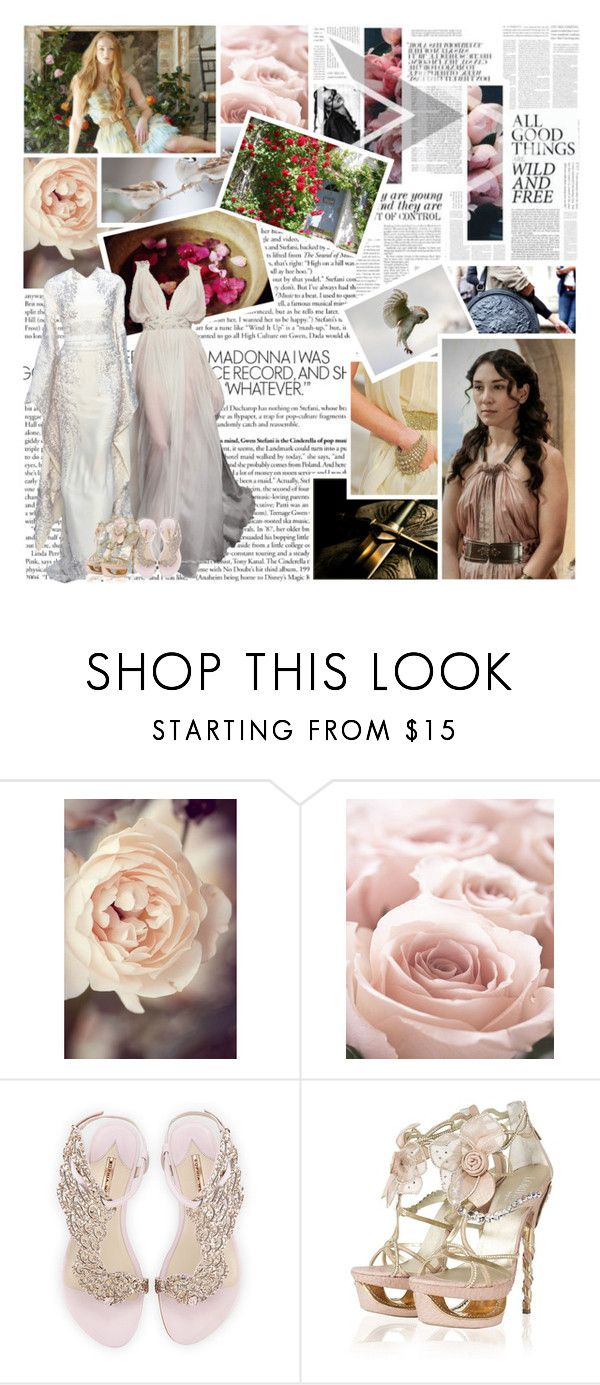 """BOTS5: Bonus Round 1"" by skyfalll ❤ liked on Polyvore featuring Chanel, Shabby Chic, L'Wren Scott, Sophia Webster and bots5"