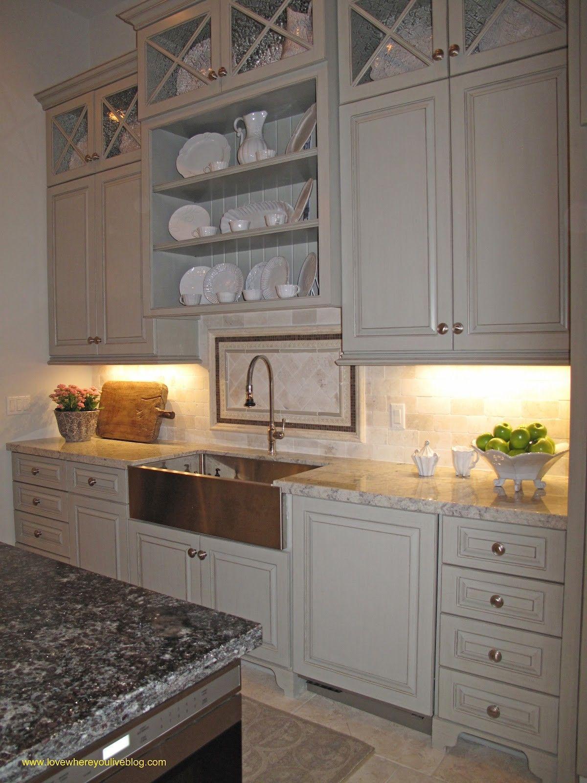 Adding Shelves Above Kitchen Cabinets | A Baker's kitchen ...