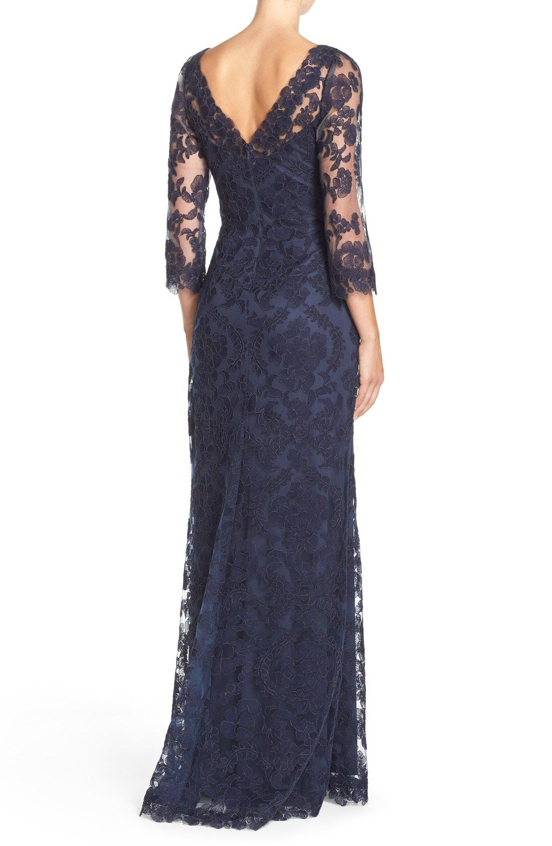 Tadashi Shoji Embroidered Tulle Gown | Nordstrom (mother of bride ...