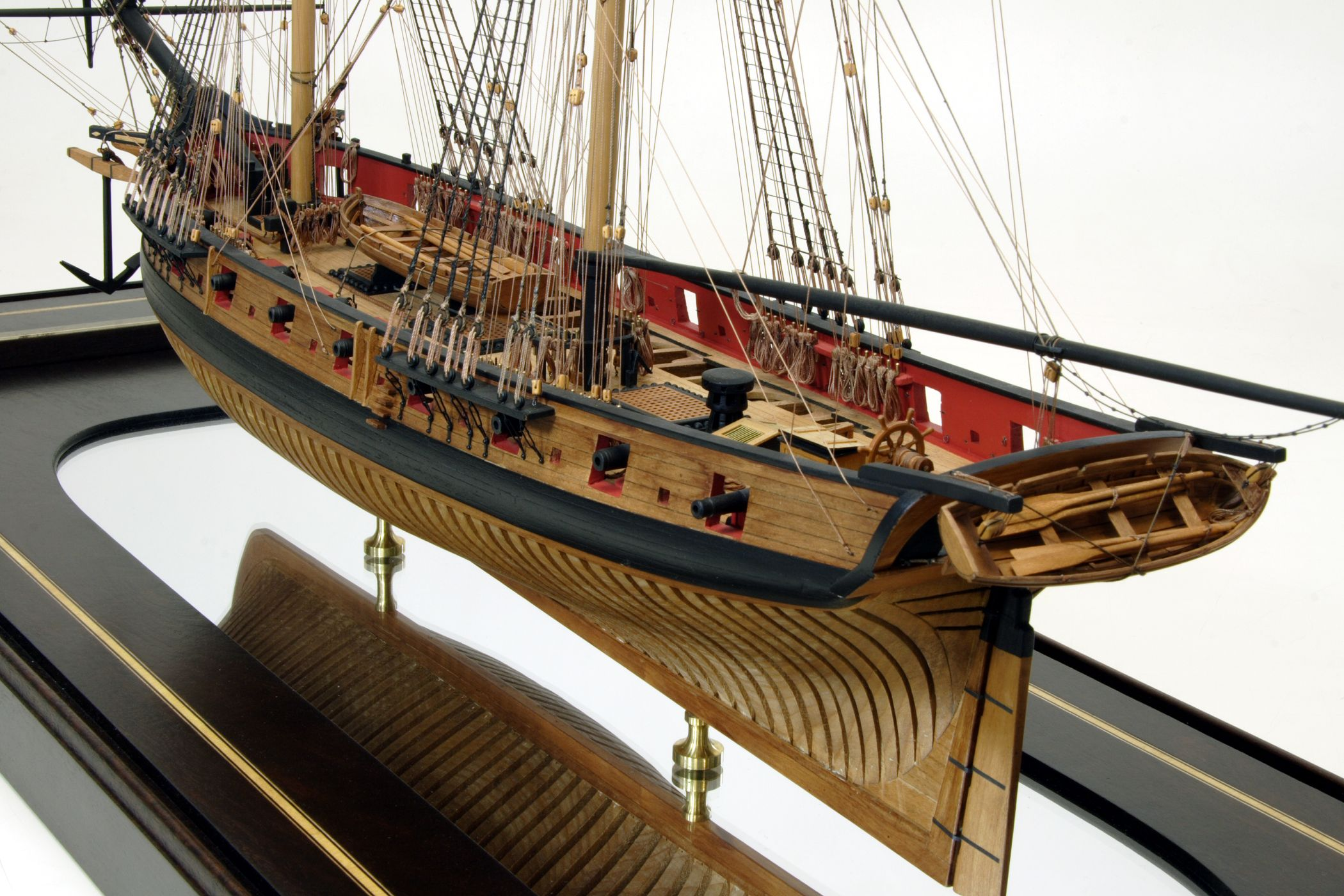 Syren By Raymond Langdon Designed Benjamin Hutton Jr And Built Pirate Ship Diagram Piratediary Natl At Philadelphia The Brig Was Launched In 1803 Went Into Commission