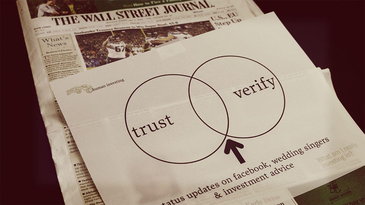 Always verify