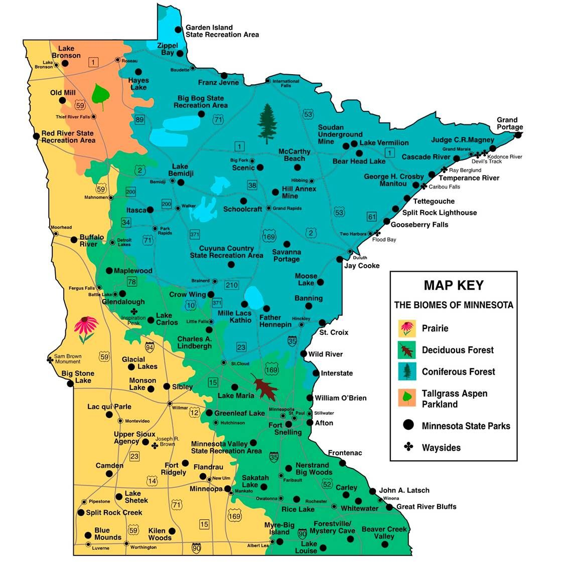 Mn State Park Map minnesota state parks | With this in mind, how should overall