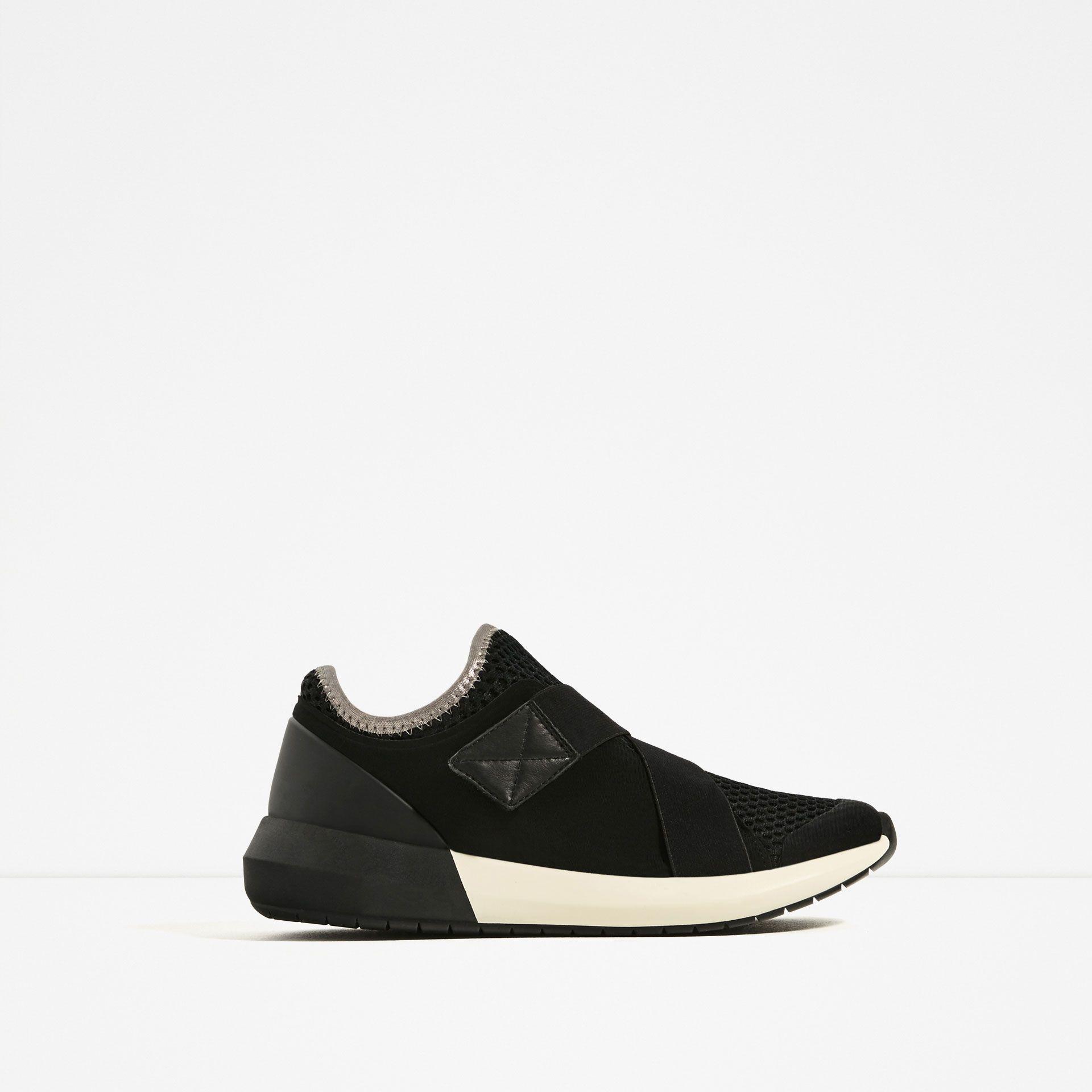 HOOK AND LOOP SNEAKERS Sneakers, Shoes, Womens sneakers