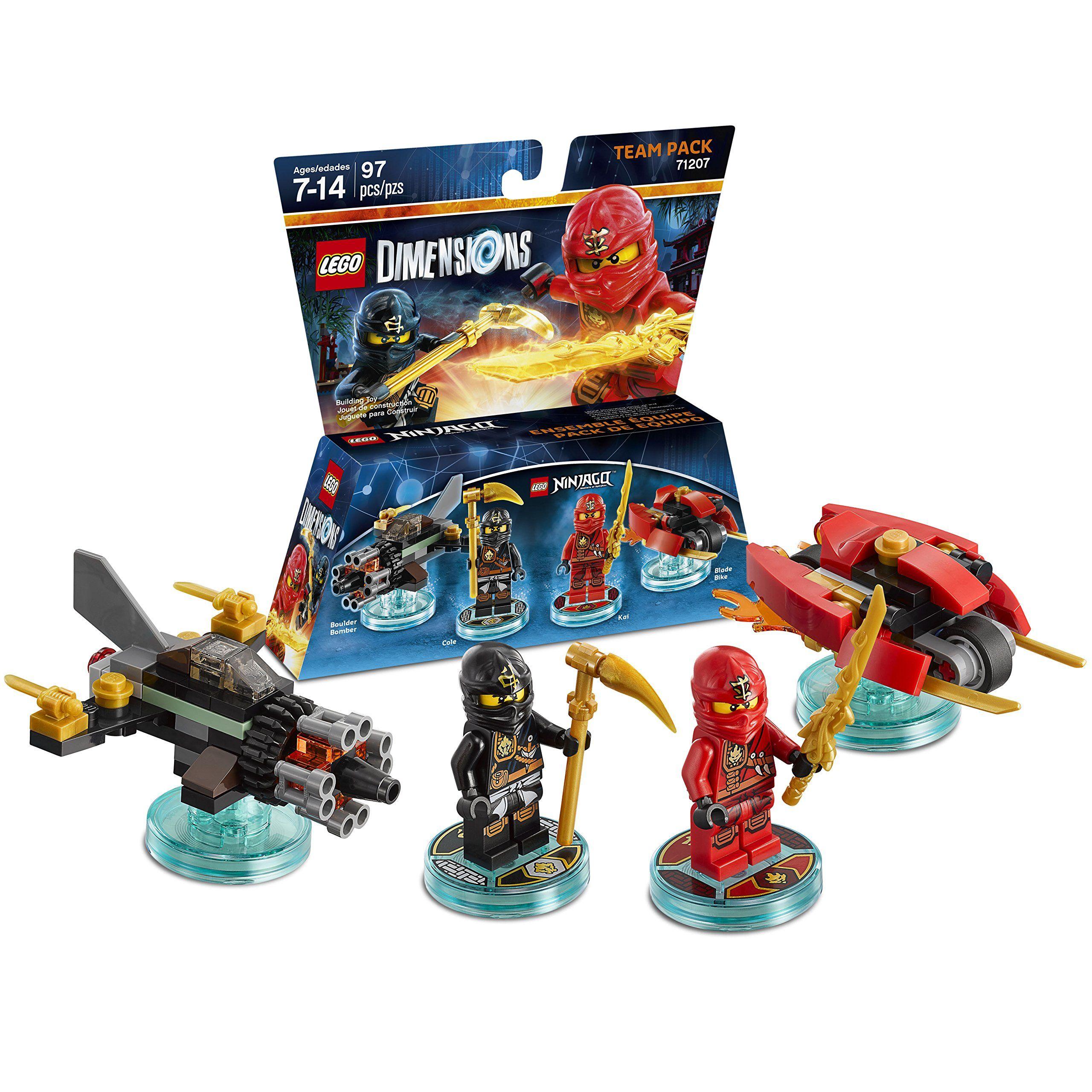 Team Dimensions Lego Ninjago Pack Ninjago FTcJl1K