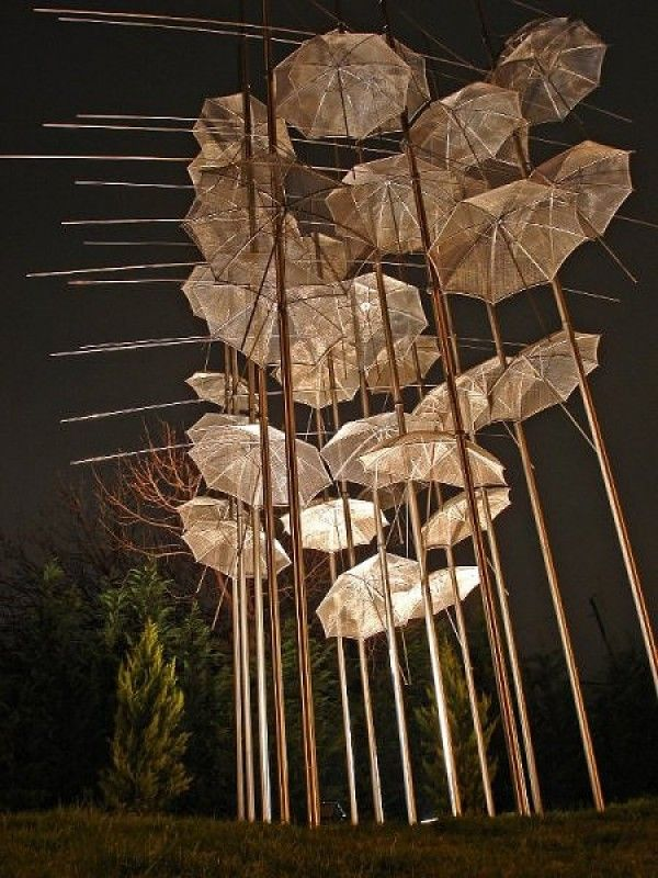Umbrella Art Installations