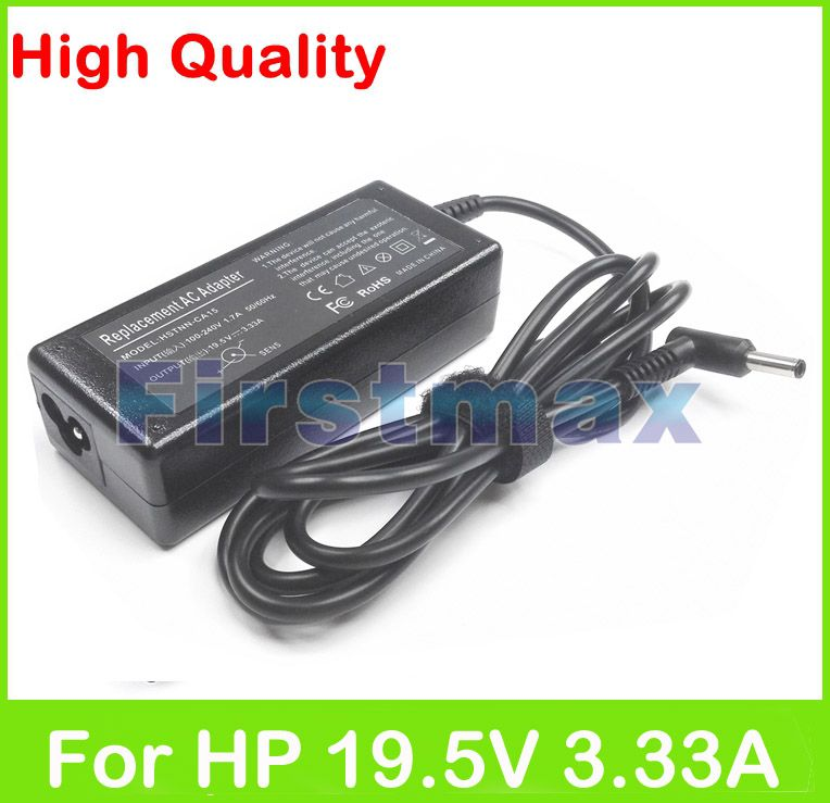 195V 333A 65W Laptop AC Power Adapter For HP Charger 246 G3 G4 248 G1 250 G2 255 256