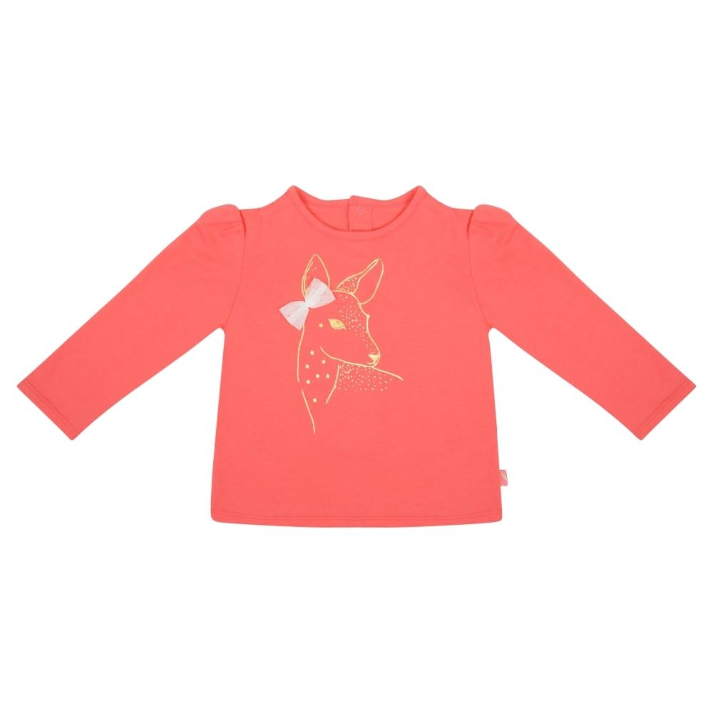 affordable price uk availability lowest price Billieblush Baby Girls Pink Long Sleeved T-Shirt. Available ...