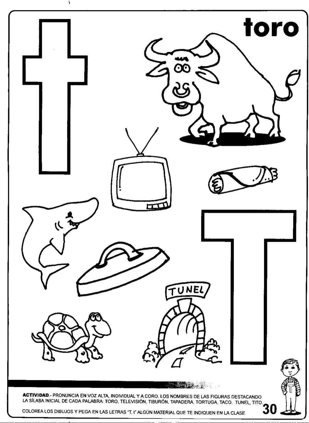 Actividades Para Trabajar La Letra E En Preescolar