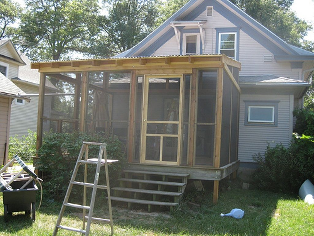 best screened in porch plans 45
