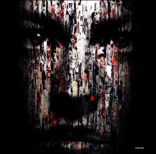 tehos 2010 tableau de tehos encres pigmentaires sur papier d 39 art maroufl. Black Bedroom Furniture Sets. Home Design Ideas
