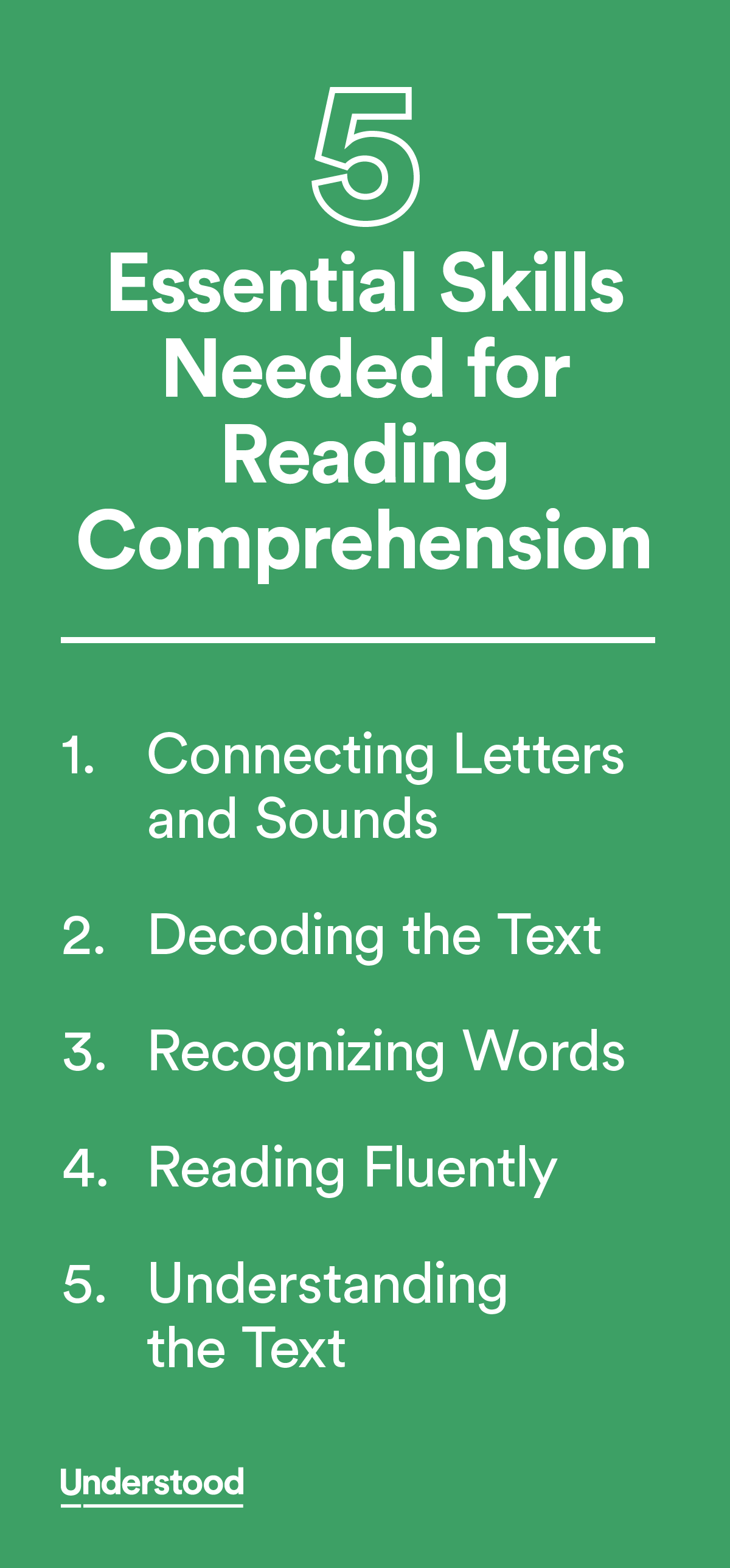5 Essential Skills Needed For Reading Comprehension