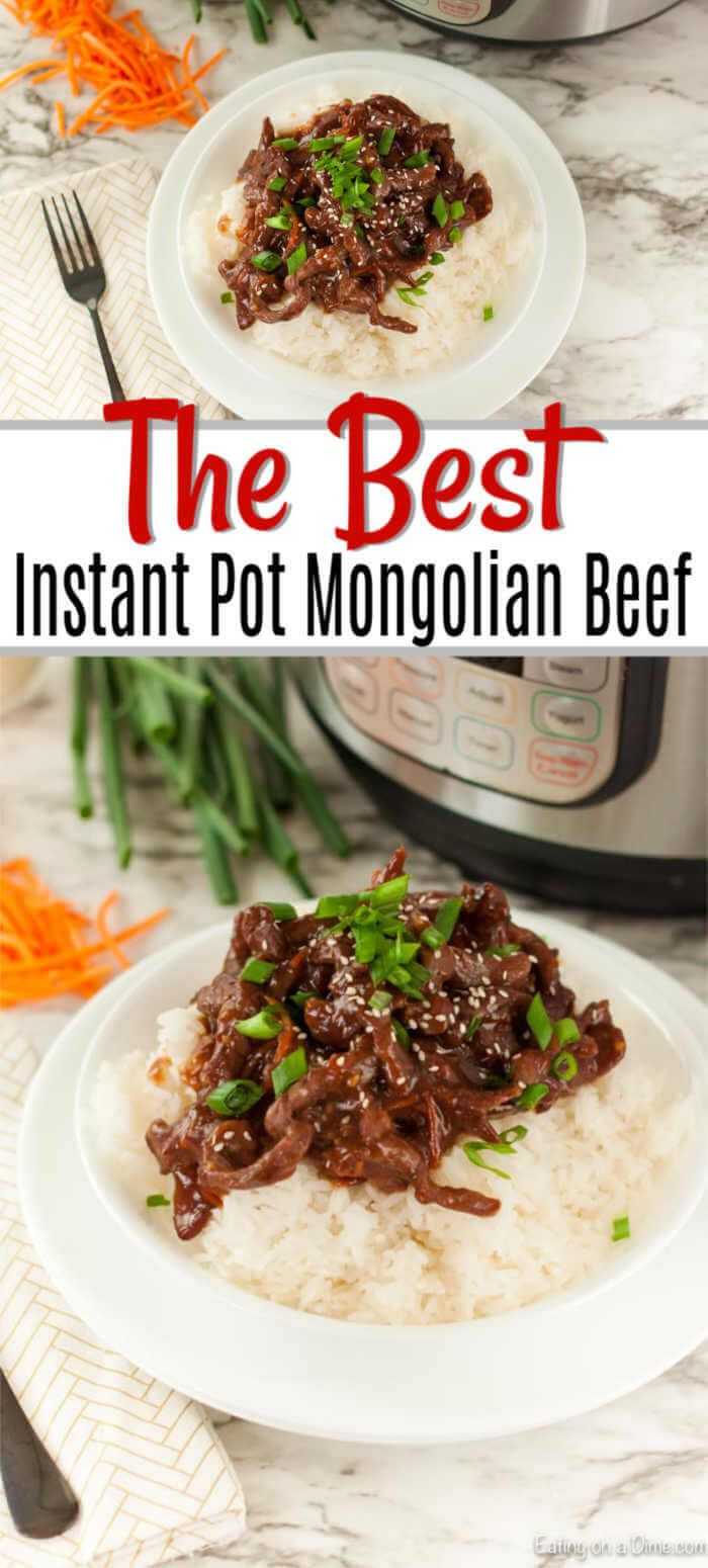Instant Pot Mongolian Beef images