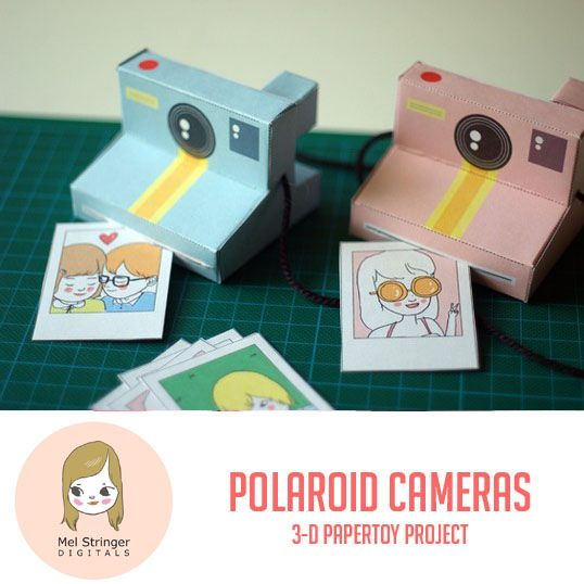 photograph relating to Polaroid Camera Printable named Printable Polaroid Cameras - Sooo Lovable! Cameras Paper