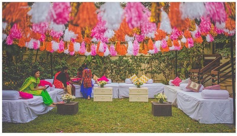 How To Create A Mehendi SetUp Under 25K With DIYs