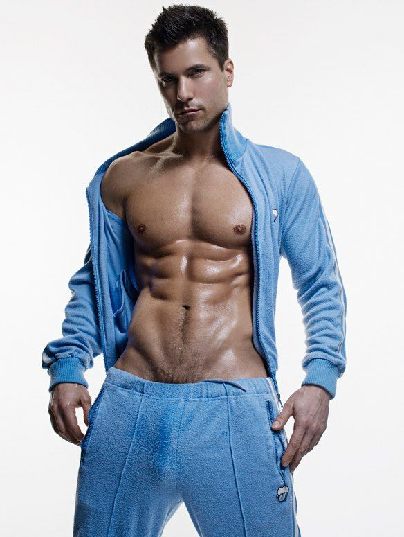 Gay muscle free clip blue