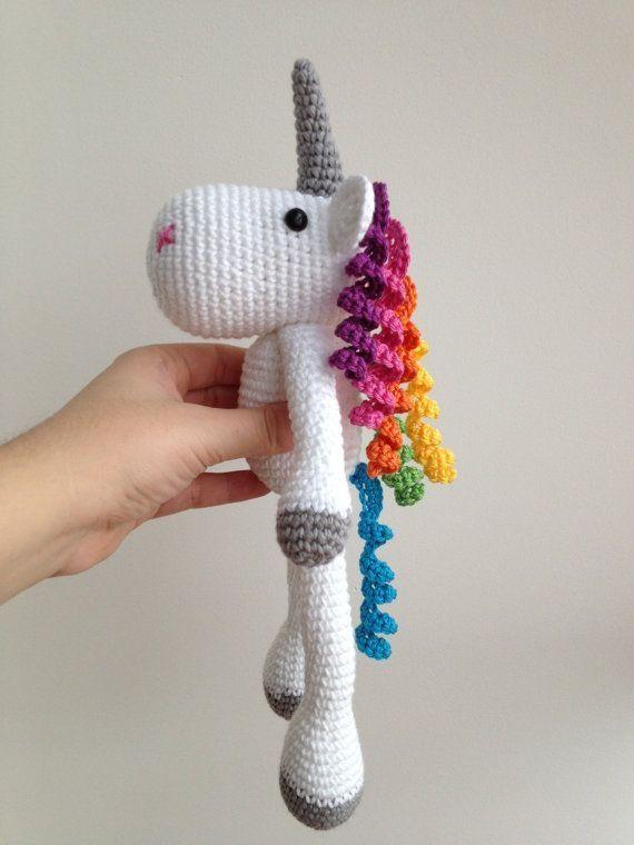 Amigurumi Unicornio Gru : Unicorn amigurumi crochet via etsy patterns for