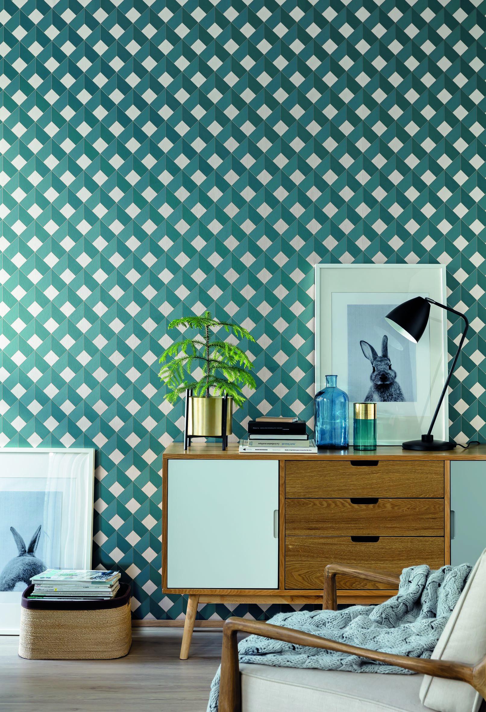 Square Wallpaper by Caselio Jane Clayton & Company