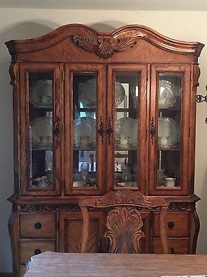 Ashley Millennium Dining Room Set Table Chairs China Cabinet PICK UP NJ OR PA
