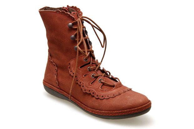 DKODE Chaussure NAIR Bottines femmeMa Chaussures Rouge 8m0OvwyNnP