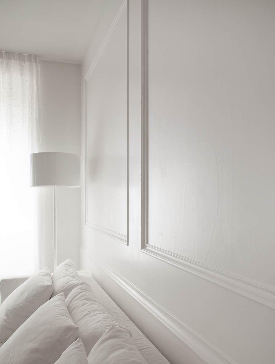 Pannelli e cornici in legno per arredare pareti porte e for Stili di arredamento interni