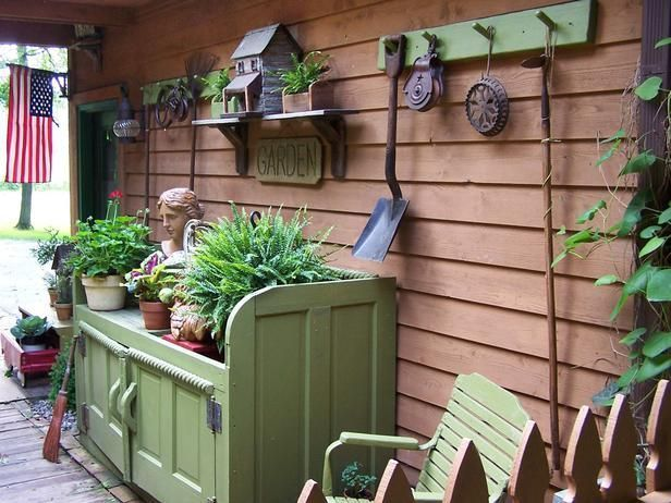 50 Best Potting Bench Ideas To Beautify Your Garden Outdoor ideas