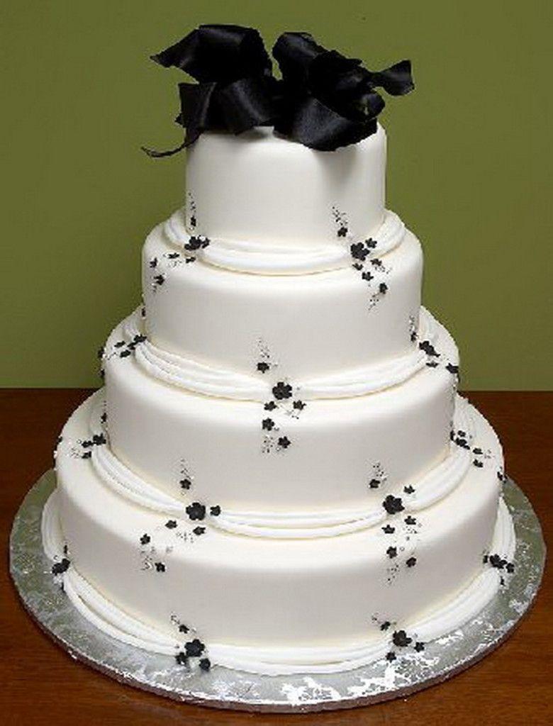 Decor ideas for traditional wedding  Cake Decoration IdeasSimple White Traditional Wedding Cakes  Cake