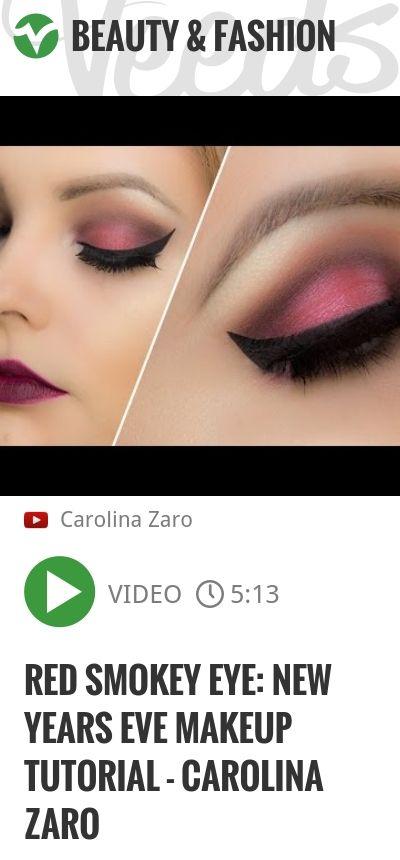 Red Smokey Eye Makeup Tutorial Saubhaya Makeup