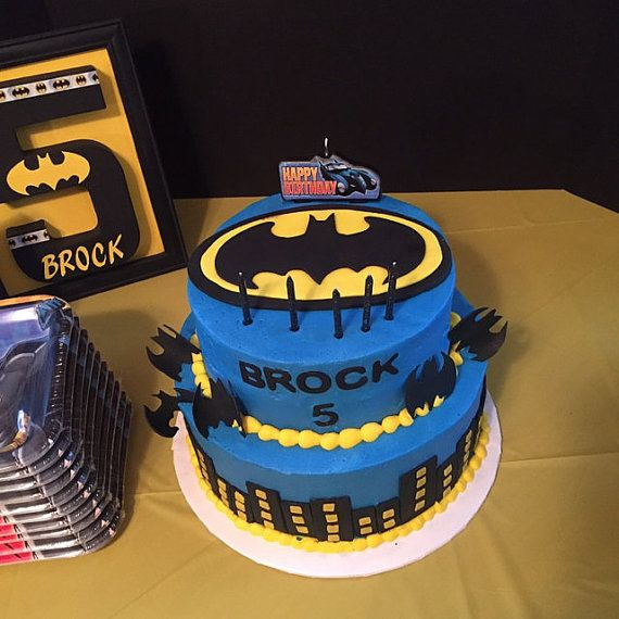 22pcs batman cake topper edible batman inspired image fondant cake