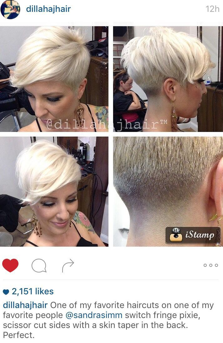 Image Result For Womens Short Haircuts With Shaved Sides Hair