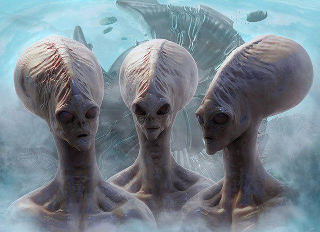 Außerirdisches Lebewesen