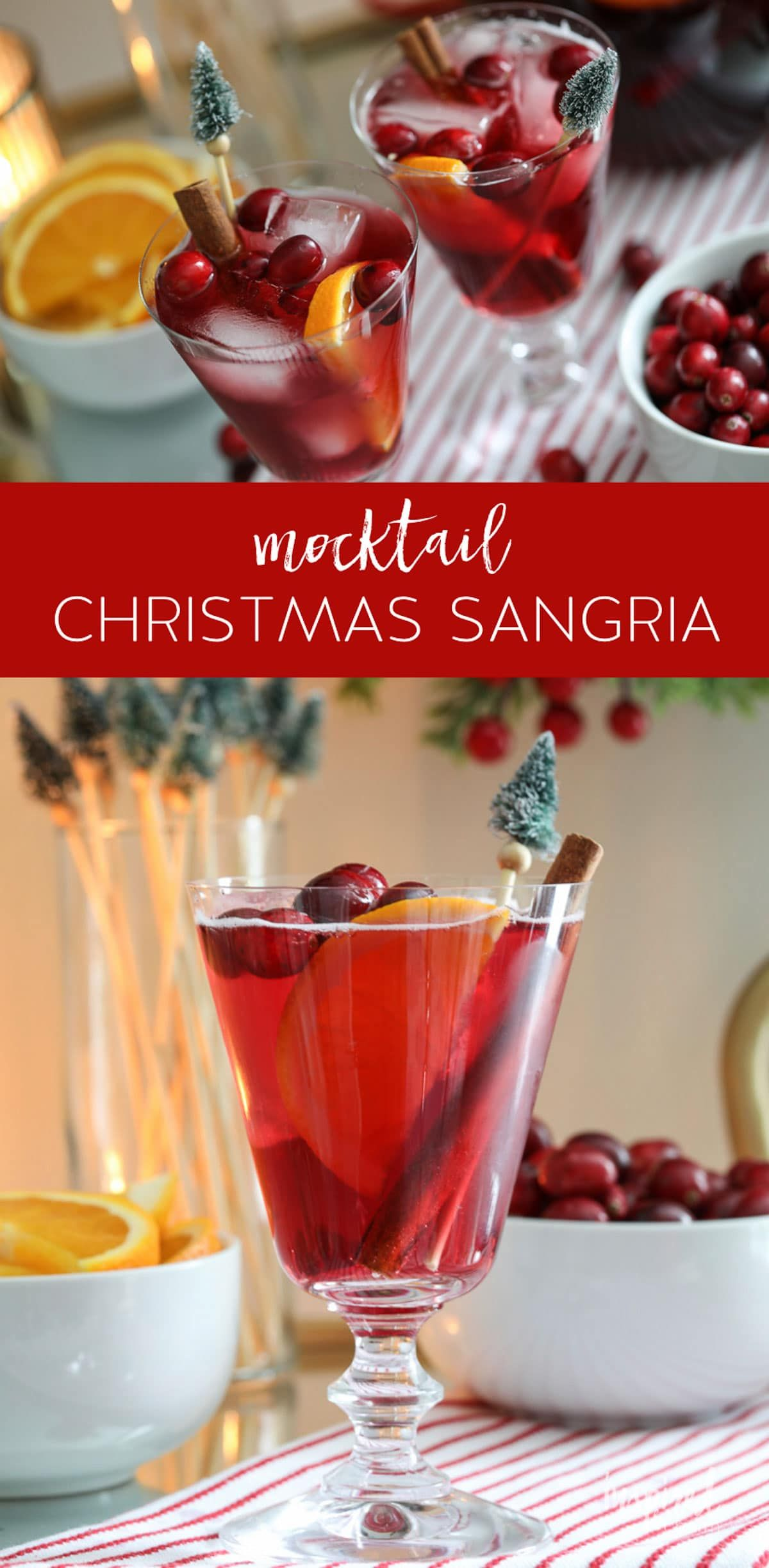 A Delicious And Easy Non Alcoholic Sangria For Christmas Christmas Holiday Sangria Mocktail R Non Alcoholic Sangria Christmas Sangria New Year S Desserts