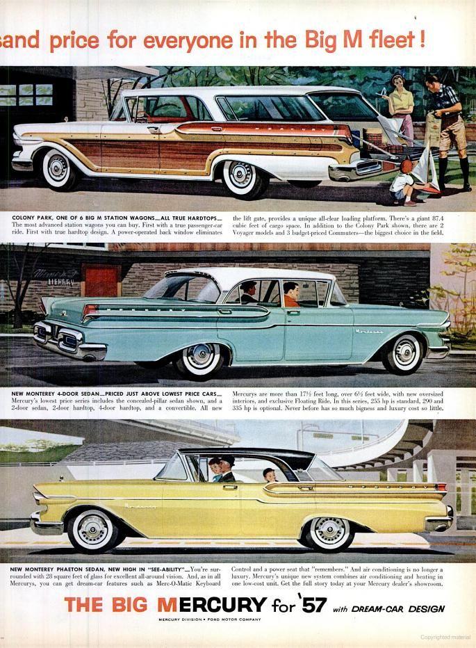 1957 Mercurys