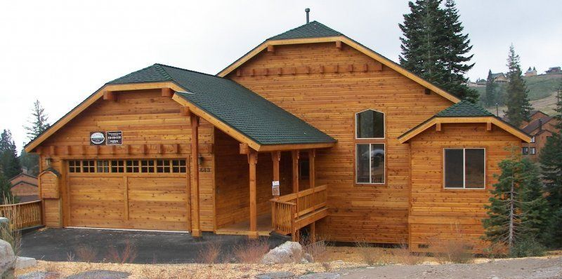 Cedar siding like the color and roof girdwood home for Homes with wood siding