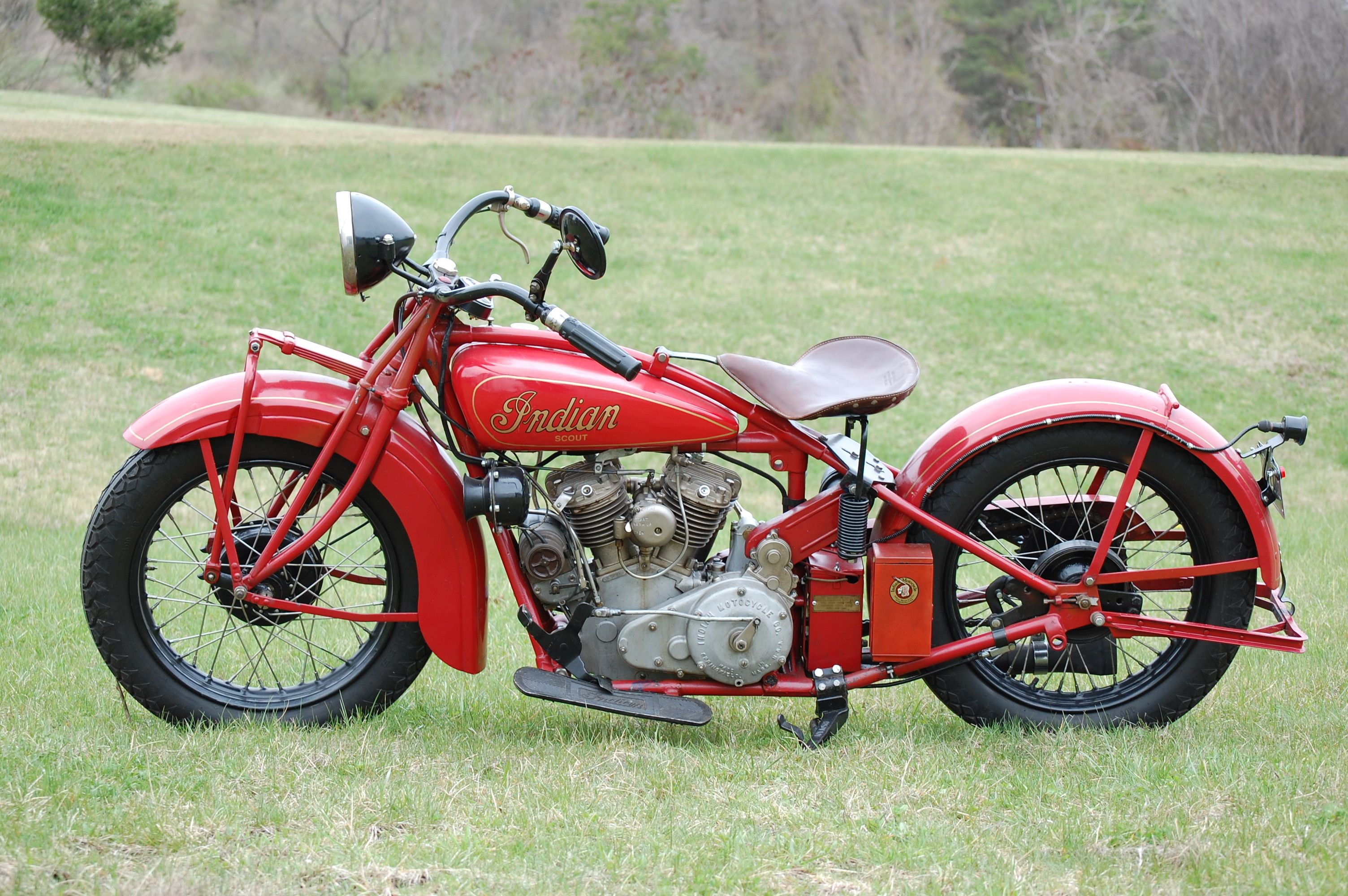 1927 Indian Scout 600cc Motorcycle 30 000 Indian Motorcycle