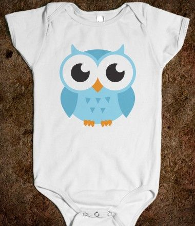 1753ccb34 Cute blue baby owl, onesie / jumpsuit for little boys or girls ...