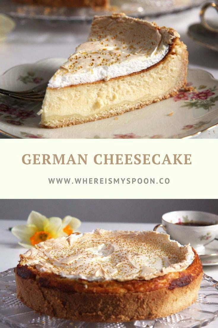 German Cheesecake #simplecheesecakerecipe