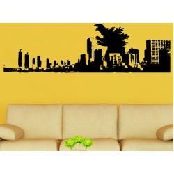 Photo of Sticker mural Godzilla et StadtWayfair.de
