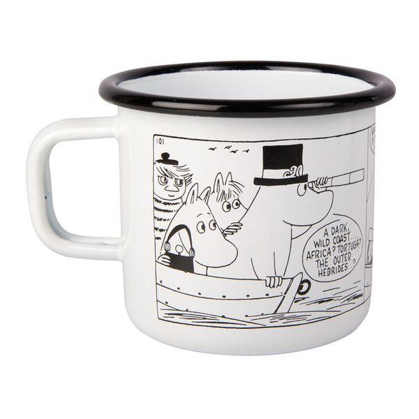 Neljäs muki rajoitetussa Moomin Shop sarjassa. Verkossa tilattavissa ainoastaan Moomin.comin kautta. Muurlan keräilymukia tuotettu ainoastaan 1000 kappaletta.Koko 3,7 dl