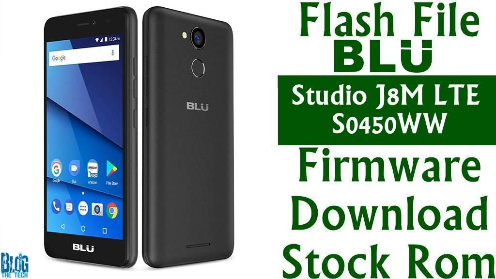 Flash File] BLU Studio J8M LTE S0450WW Firmware Download [Stock Rom