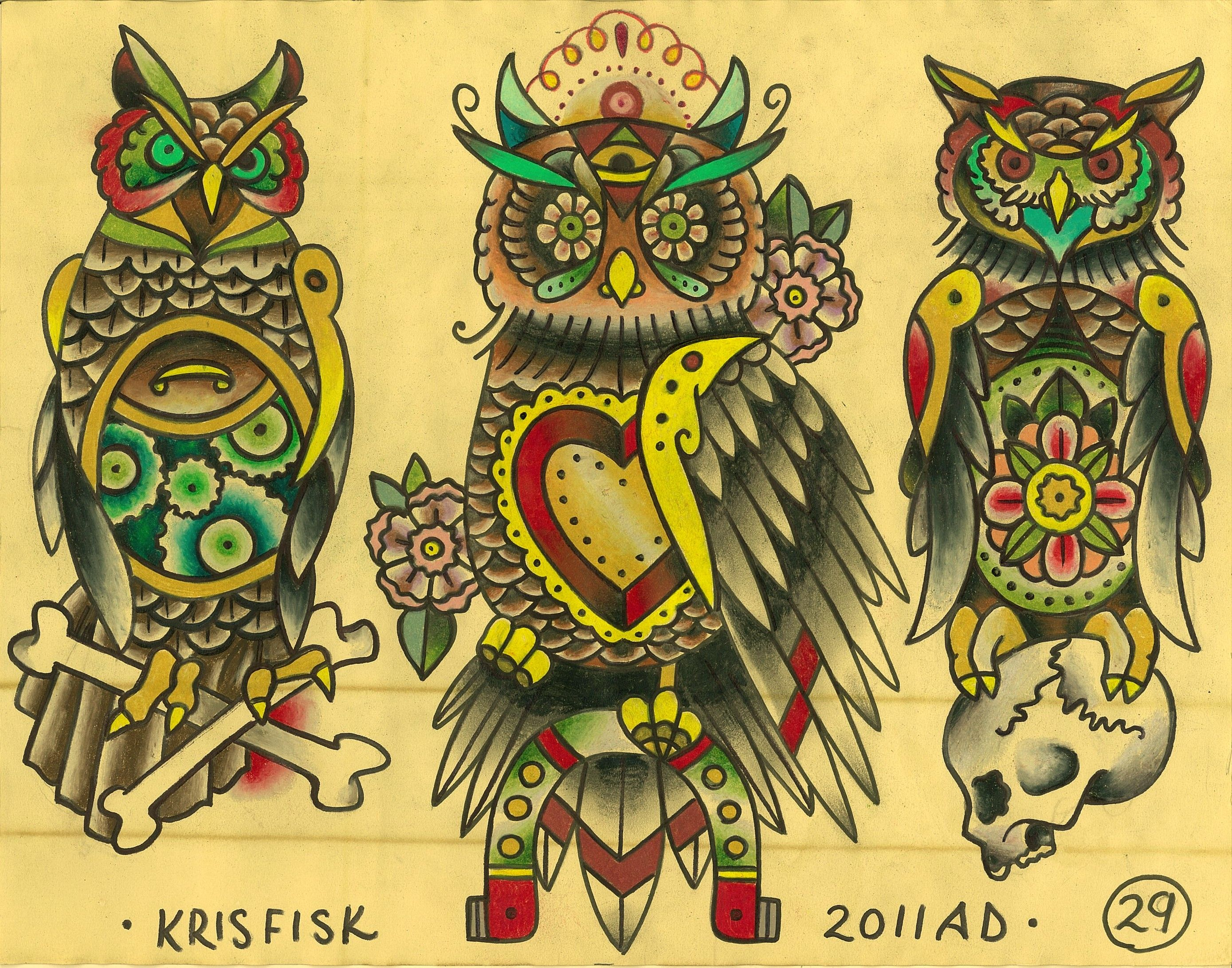 Pin By Austin Green On Tattoo Shit Traditional Owl Tattoos Traditional Tattoo Flash Tattoo Flash Art